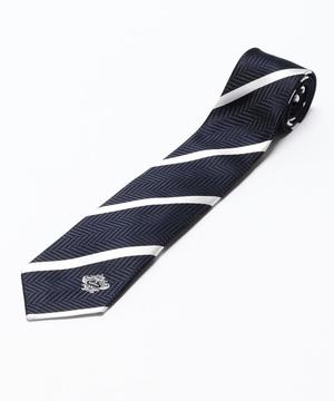 Orobianco Tie(ワンポイントパネル・サテンストライプ)