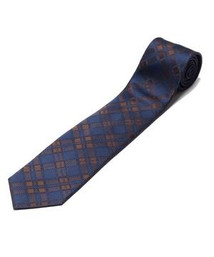 Orobianco Tie(アズーロ・エ・マローネ・チェック)
