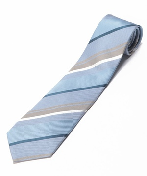 Orobianco Tie(Blue/Sandストライプ)