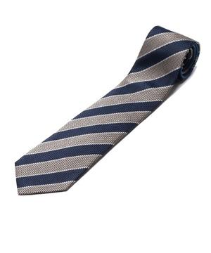 Orobianco Tie(ブルー/サンド・ストライプ)