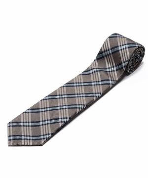 Orobianco Tie(ブルー/サンド・チェック)