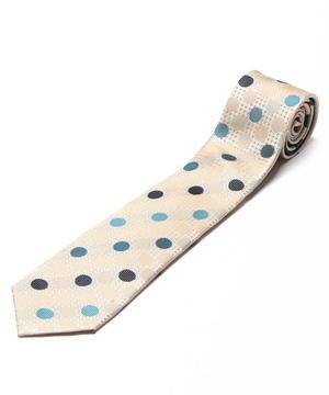Orobianco Tie(ブルー/サンド・ドット)