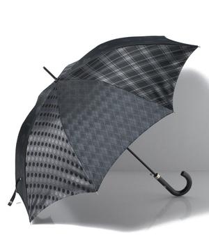 パッチワーク柄長傘