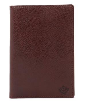 ソリッドレザー パスポートケース