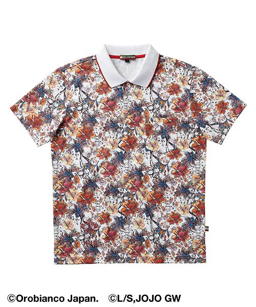 Giorno Giovanna(ジョルノ・ジョバァーナ)ポロシャツ