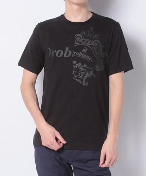 ロゴPt切替半Tシャツ