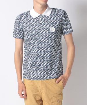 オログラム昇華転写半袖ポロシャツ