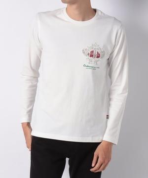 USコットンコロナロゴモチーフ長袖Tシャツ