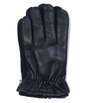 ニットマチ付き革手袋