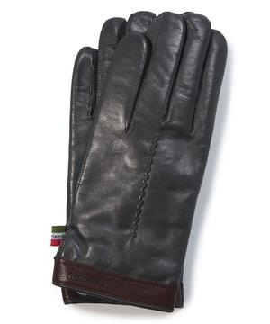 ハンガリー製サイドスリットホック付き本革手袋