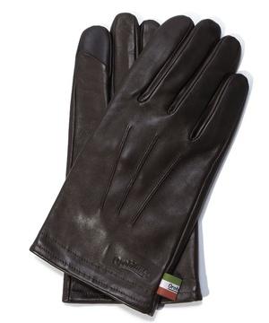 タッチパネル対応イタリーシープスマートスタイル革手袋