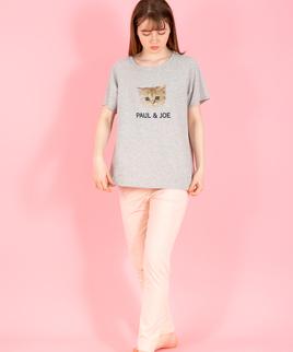 ヌネット&ロゴ Tシャツ キュートなヌネットにみつめられたい!(mPJR103-01226)