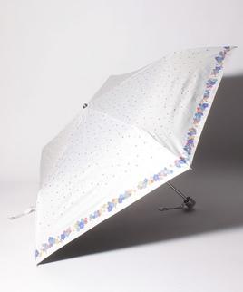 PAUL & JOE ACCESSOIRES(ポール アンド ジョー アクセソワ)晴雨兼用折りたたみ日傘 小花柄