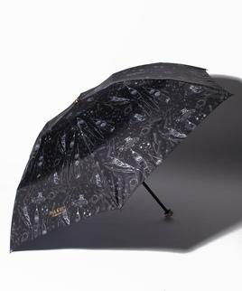 PAUL & JOE ACCESSOIRES(ポール アンド ジョー アクセソワ)折りたたみ傘【スペースキャットトラベラーズ