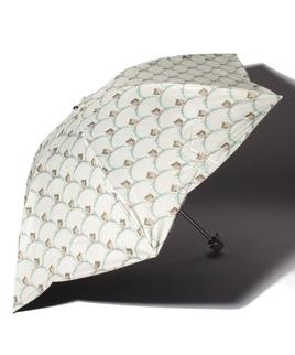 PAUL & JOE ACCESSOIRES(ポール&ジョー アクセソワ)晴雨兼用折りたたみ日傘 タイムレスキャット