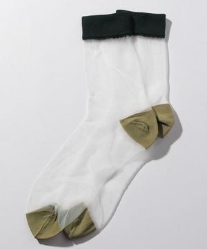 カラーブロックソックス・靴下