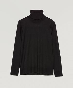 ストレッチタートルネックニット・セーター