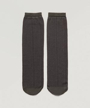 リブソックス・靴下