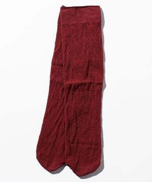 飾り編みレースソックス・靴下