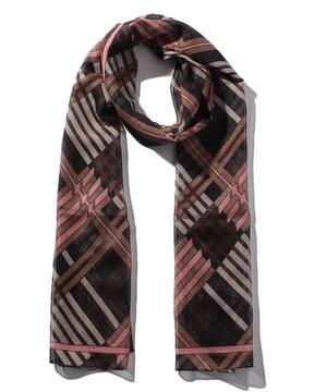 シフォンマルチ総柄スカーフ
