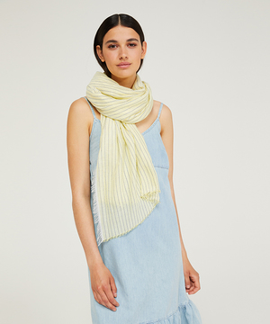 マクロラインスカーフ