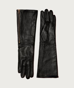 レザーロンググローブ・手袋