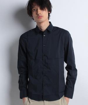 サテンストレッチドレスシャツ