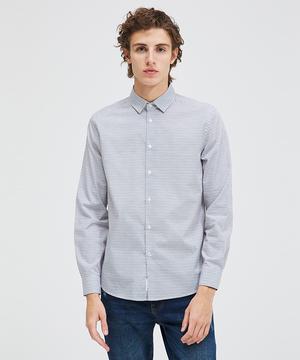 総柄レギュラーシャツ