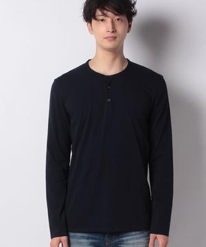 ヘンリーネック長袖Tシャツ・カットソー
