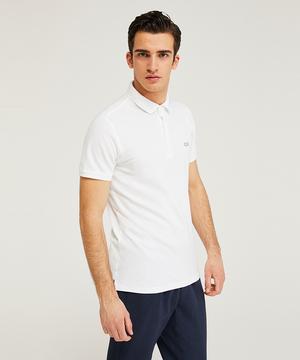 ワンポイント刺繍半袖ポロシャツ