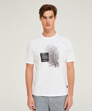 オーバーフィットプリント半袖Tシャツ・カットソー