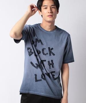 ガーメントダイプリント半袖Tシャツ・カットソー