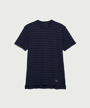 ボーダーロゴ半袖Tシャツ・カットソー