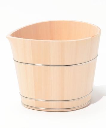木曽檜ワインクーラー しずく|中川木工芸