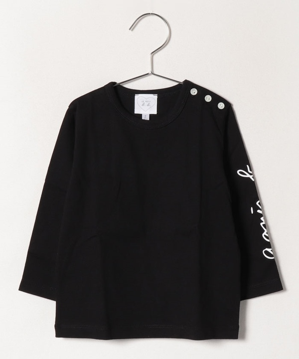 S035 L TS ベビー ロゴTシャツ