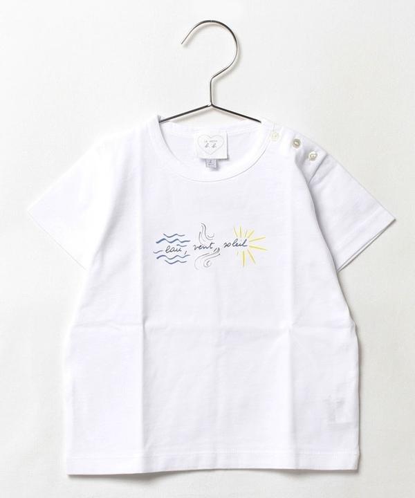 SDC7 L TS ベビー メッセージTシャツ