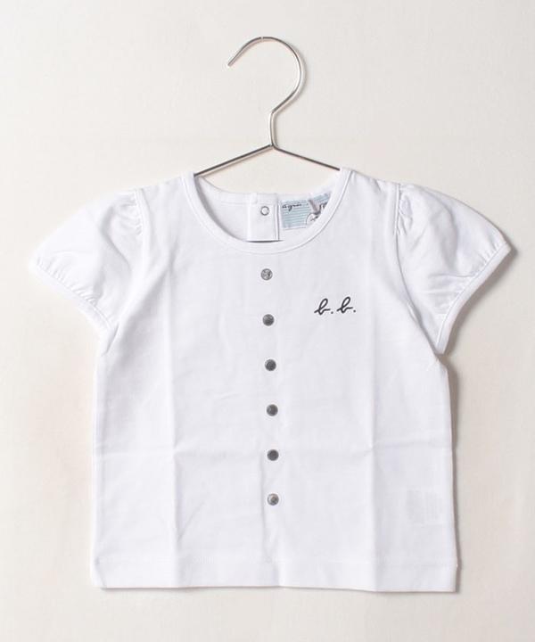 K304 L TS ベビー トロンプルイユTシャツ