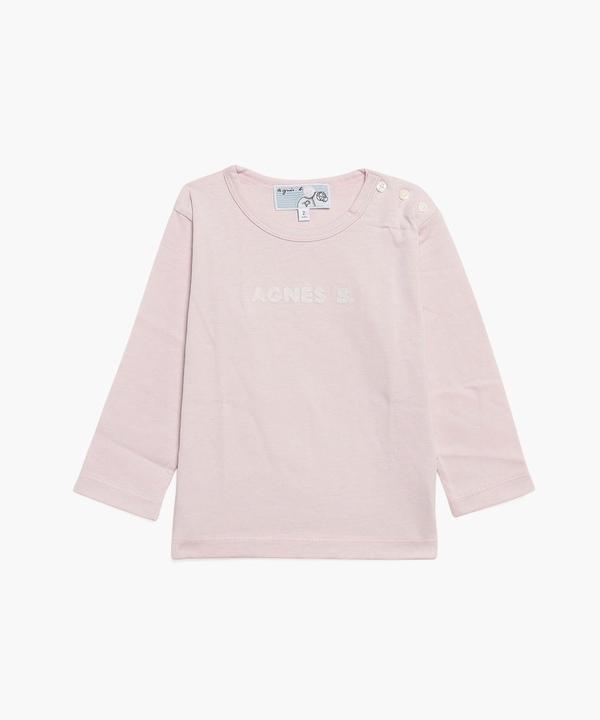 K339 L TS ベビー ロゴTシャツ