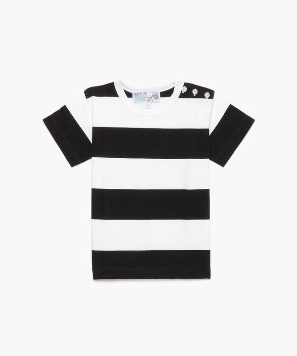 J019 L TS ボーダーTシャツ