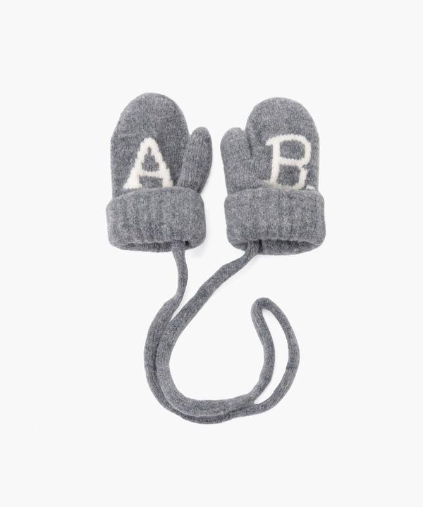 AB38 L MOUFLES  ベビー ABロゴミトン