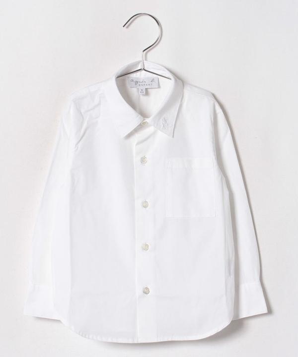 U892 E CHEMISE  キッズ コットンシャツ