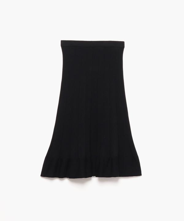 LW96 JUPE ウールプリーツスカート