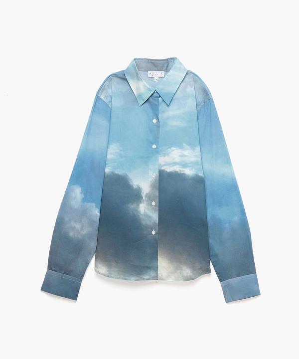 NT07 CHEMISE フォトプリントシャツ