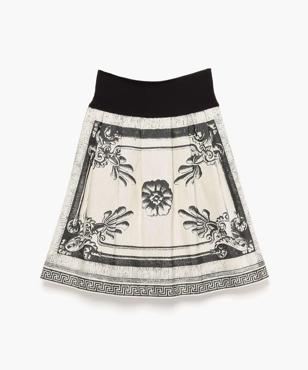 TCC2 JUPE アンティークエングレイヴィング  ジャガード織りスカート