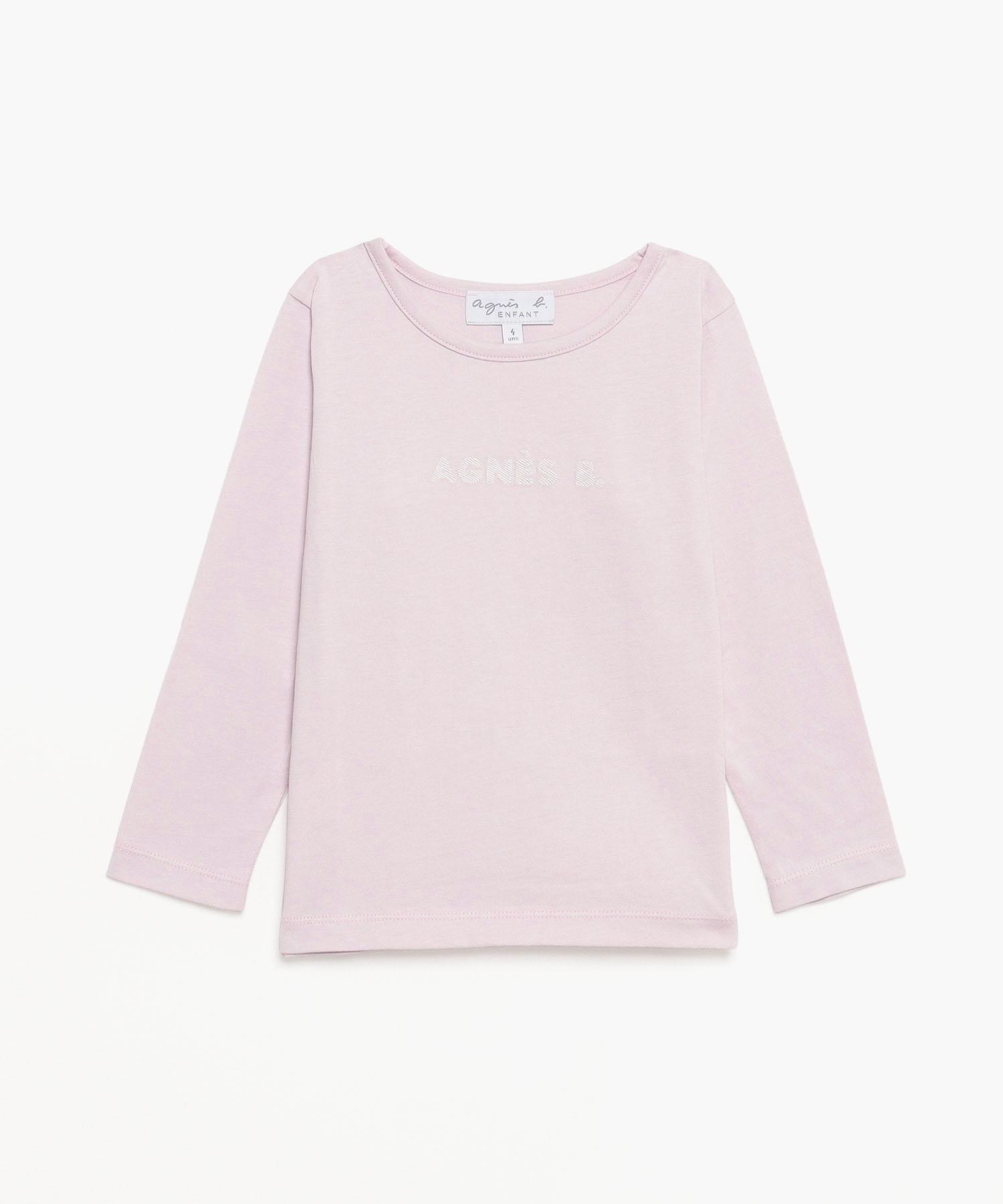 K339 E TS キッズ ロゴTシャツ