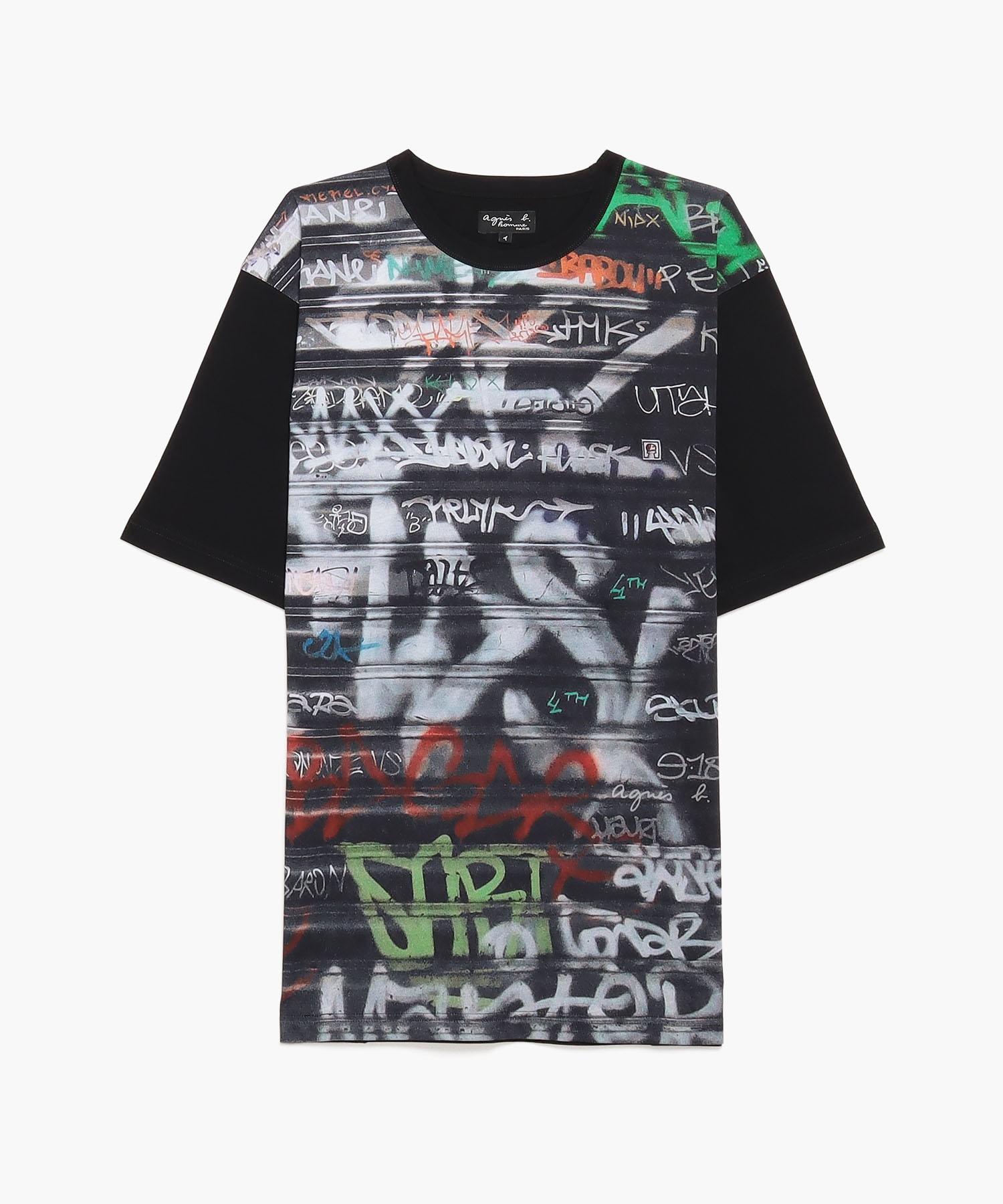 NT04 TS CHRIS MC フォトプリントTシャツ