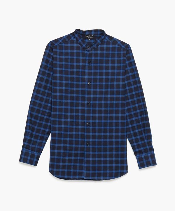 CAH9 CHEMISE バンドカラーシャツ