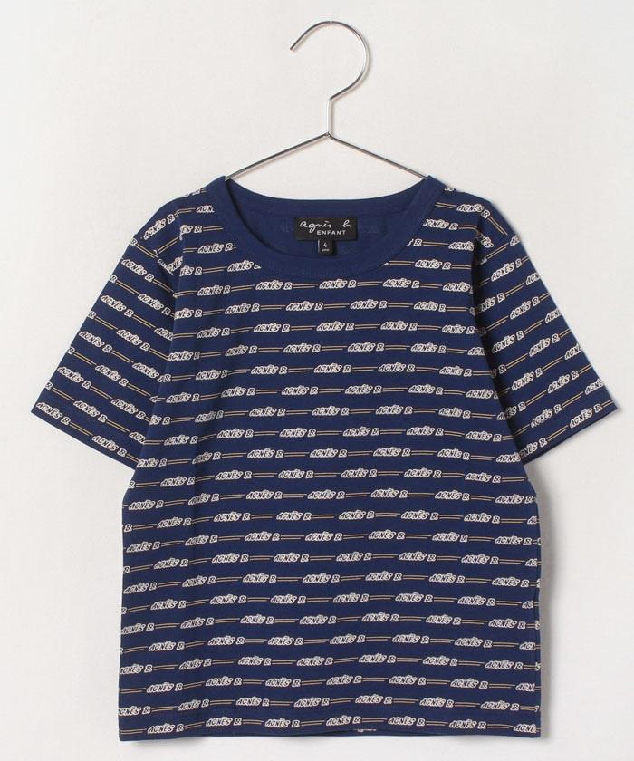 JGP1 E TS キッズ ロゴTシャツ