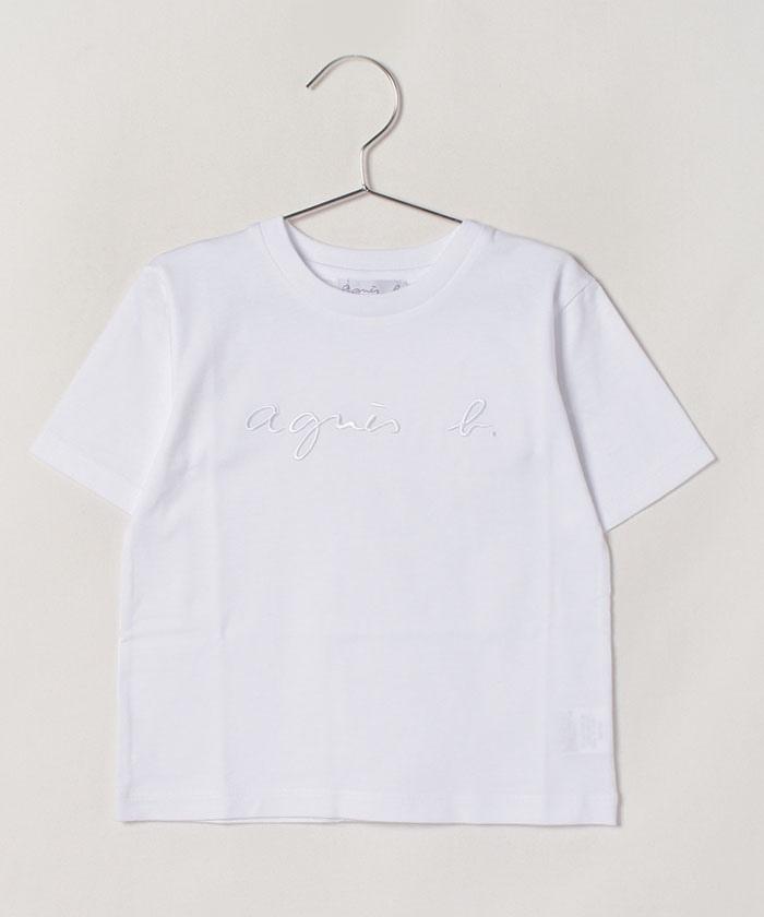 K320 E TS キッズ ロゴTシャツ