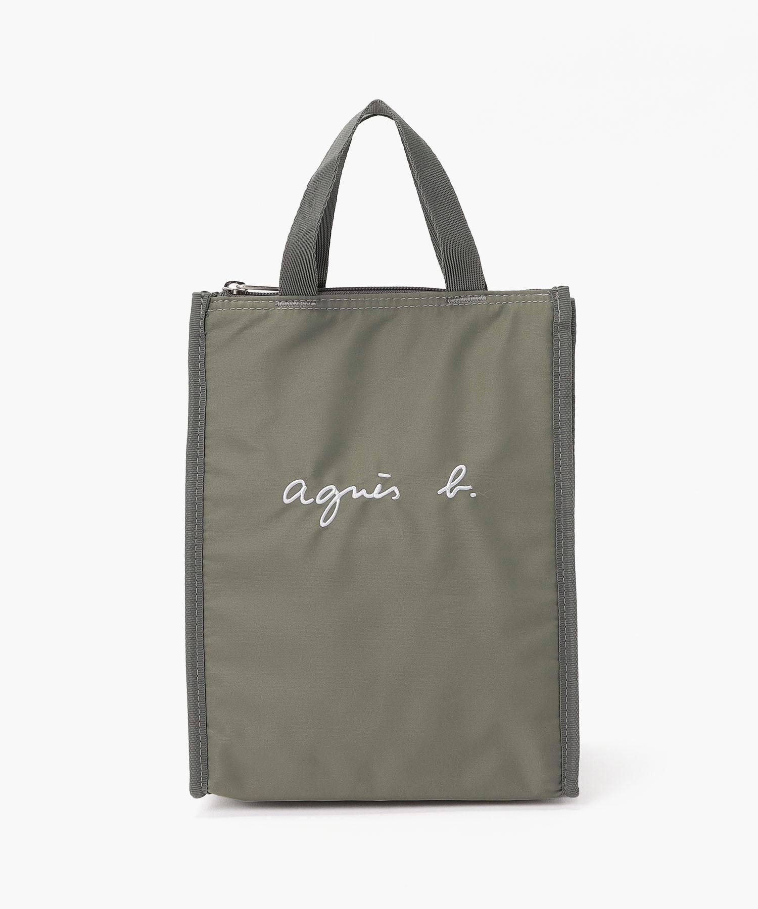 GL11 E LUNCH BAG ロゴ刺繍 保冷ランチバッグ